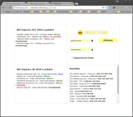 webcollab login